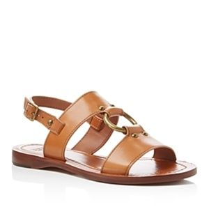 Frye Harness Leather Sandal, size 9